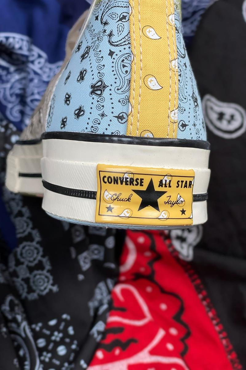 Offspring x Converse Chuck 70 全新聯乘拼布鞋款發佈