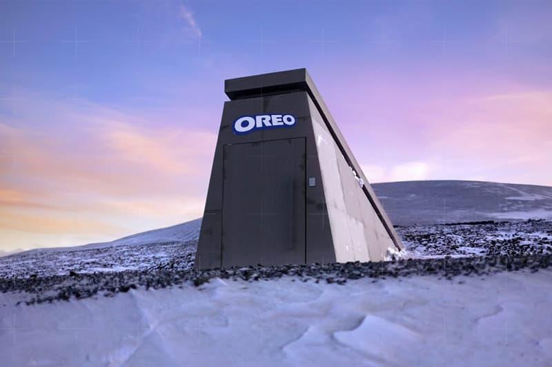 Oreo 於挪威永凍土區域修建「國際 Oreo 保險庫」