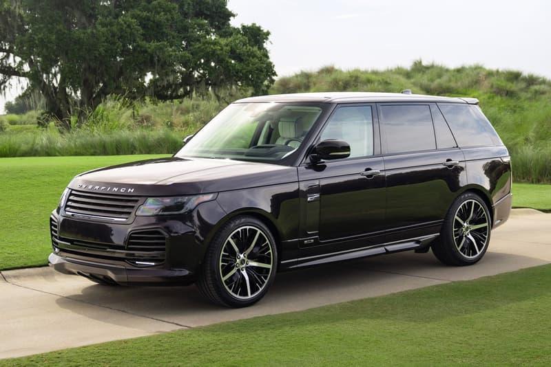 Overfinch 發表全球 5 輛 Range Rover Autobiography LWB 頂級改裝車款