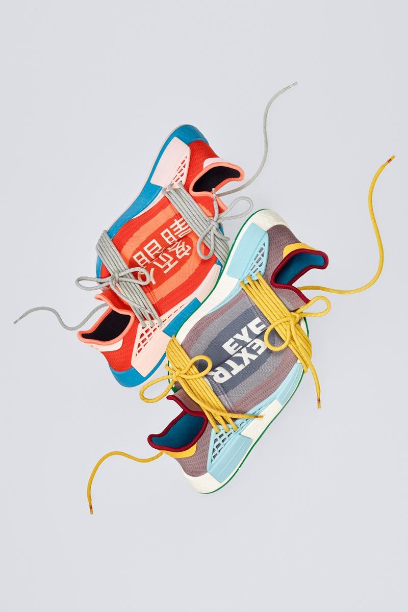 Pharrell Williams x adidas Originals 全新聯名 NMD Hu「Extra Eye」正式登場