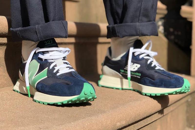 Public School 突襲發佈 New Balance 327 最新聯乘鞋款