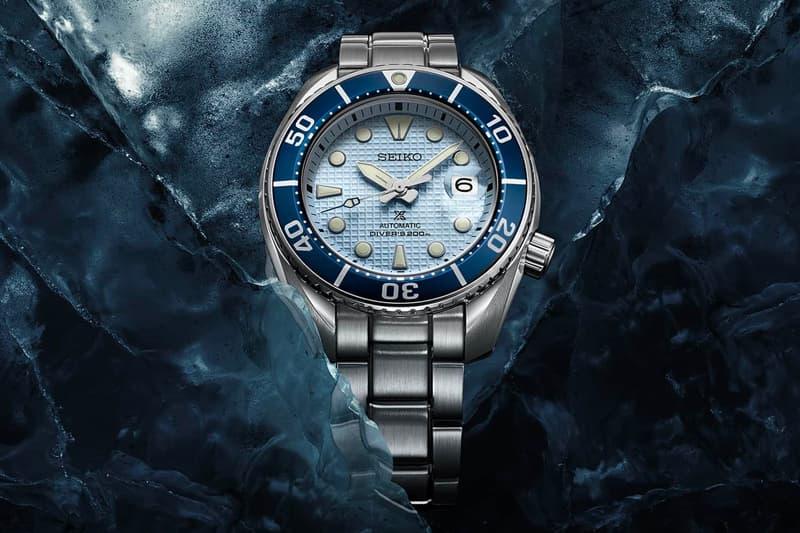 Seiko Prospex 發表全新「Ice Diver」系列 Sumo 潛水錶