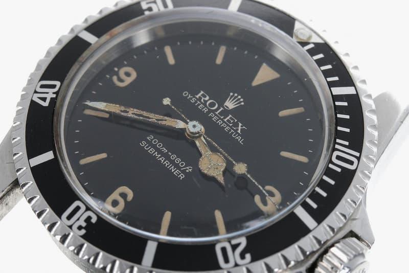 超過半世紀歷史之罕有 Rolex Submariner 以 $250,000 美元拍賣