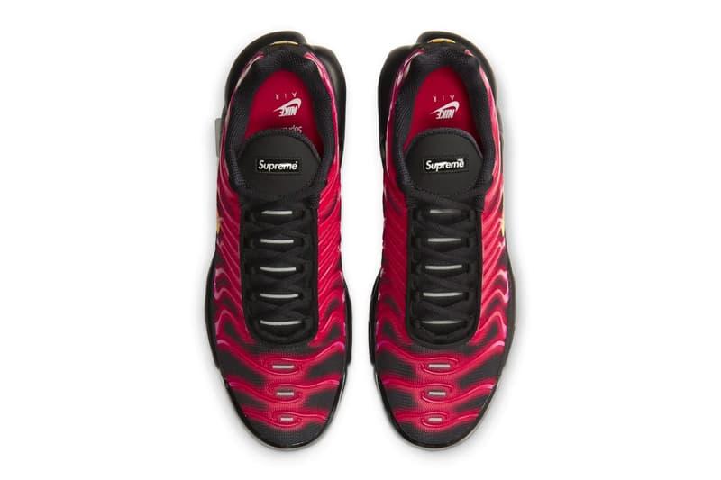 Supreme x Nike Air Max Plus TN 「Fire Pink」「Mean Green」發售詳情公佈