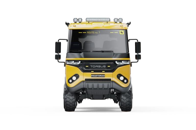 捷克汽車品牌 Torsus 發表全新「越野」Praetorian School Bus 車款