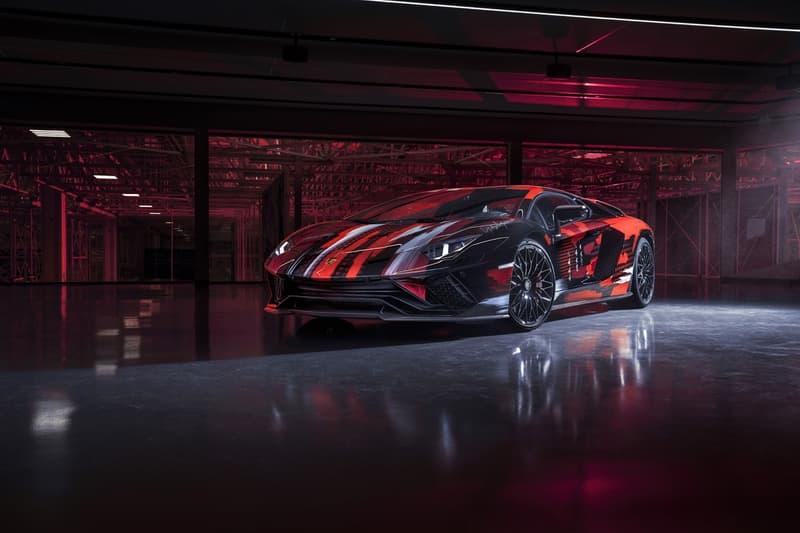 Yohji Yamamoto x Lamborghini 全新聯乘 Aventador S 車款正式登場