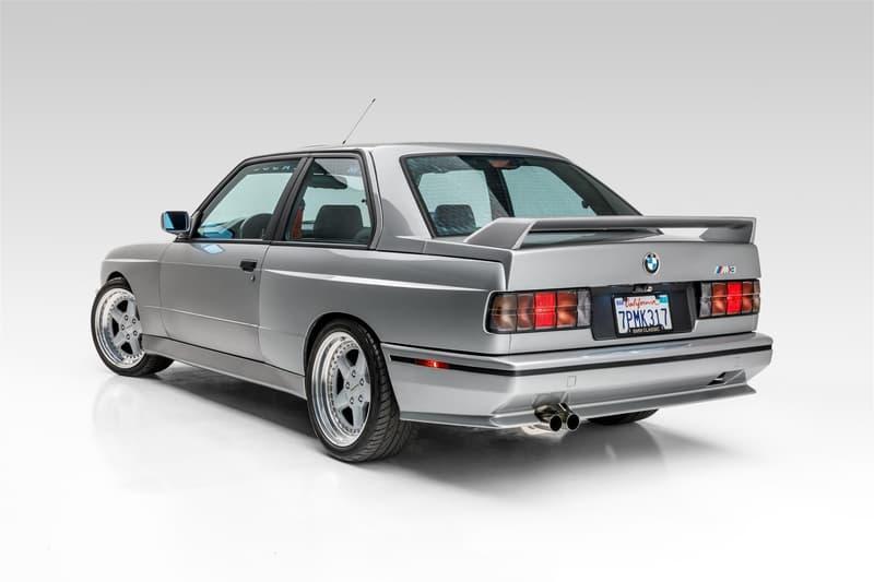 1988 年 BMW E30 M3 改裝車款以超過 $50,000 美元高價拍賣