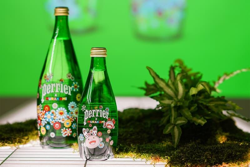 Perrier 巴黎水携手村上隆发布限量系列