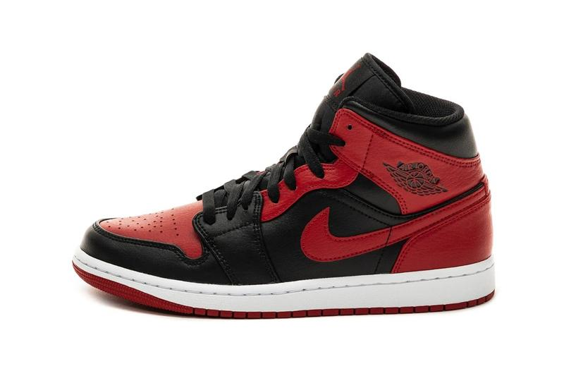 買不起 Air Jordan 1「Bred」的替代方案:Air Jordan 1 Mid「Banned」