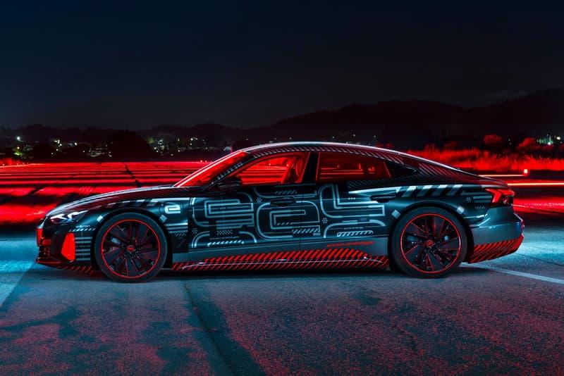 Audi 發表全新純電 RS e-Tron GT 概念車型