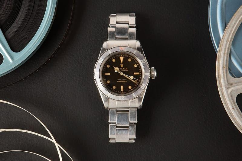 Rolex Submariner、Daytona「Paul Newman」等五款 Hollywood 標誌性錶款展開拍賣