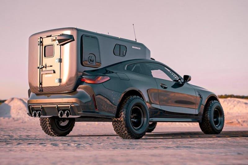 BradBuilds 打造 BMW M4 寬體化露營越野車改裝版本