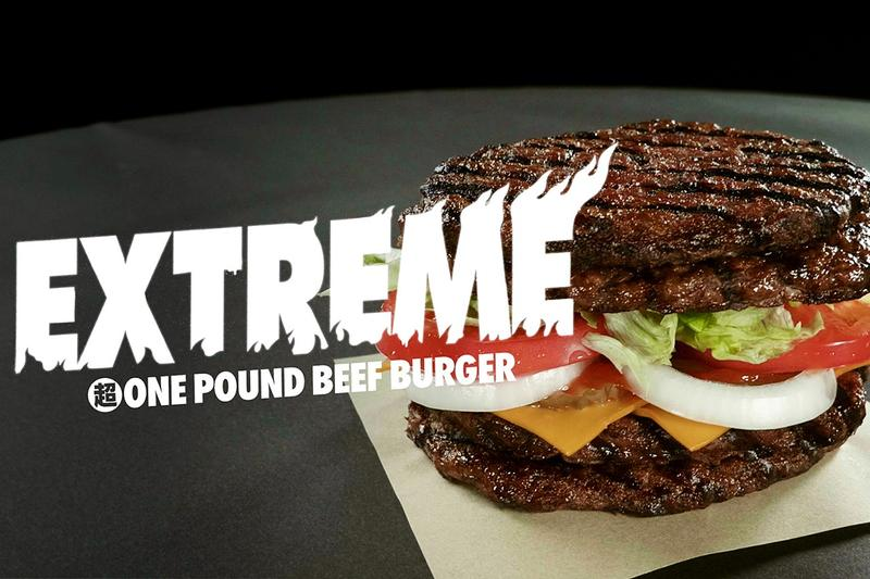 日本 Burger King 推出期間限定「重磅牛肉」口味