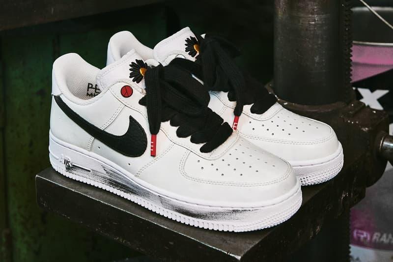 獨家近賞 G-Dragon 打造 PEACEMINUSONE x Nike Air Force 1「Para-Noise 2.0」