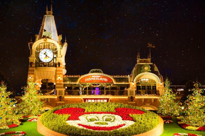 温暖节庆季开启!上海迪士尼度假区进入冬日奇境