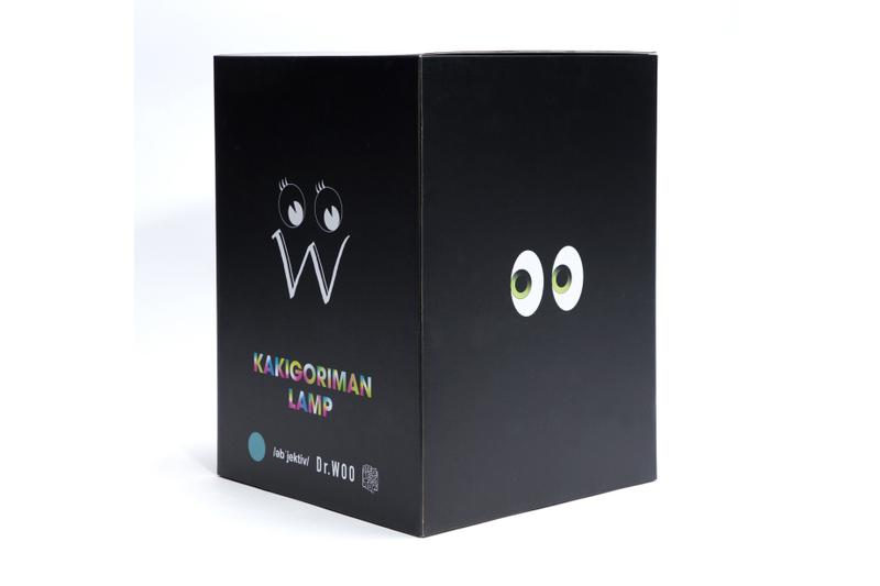 DR.WOO x OB JECT IVE x MEDICOM TOY 三方联名「Kakigoriman」台灯登场