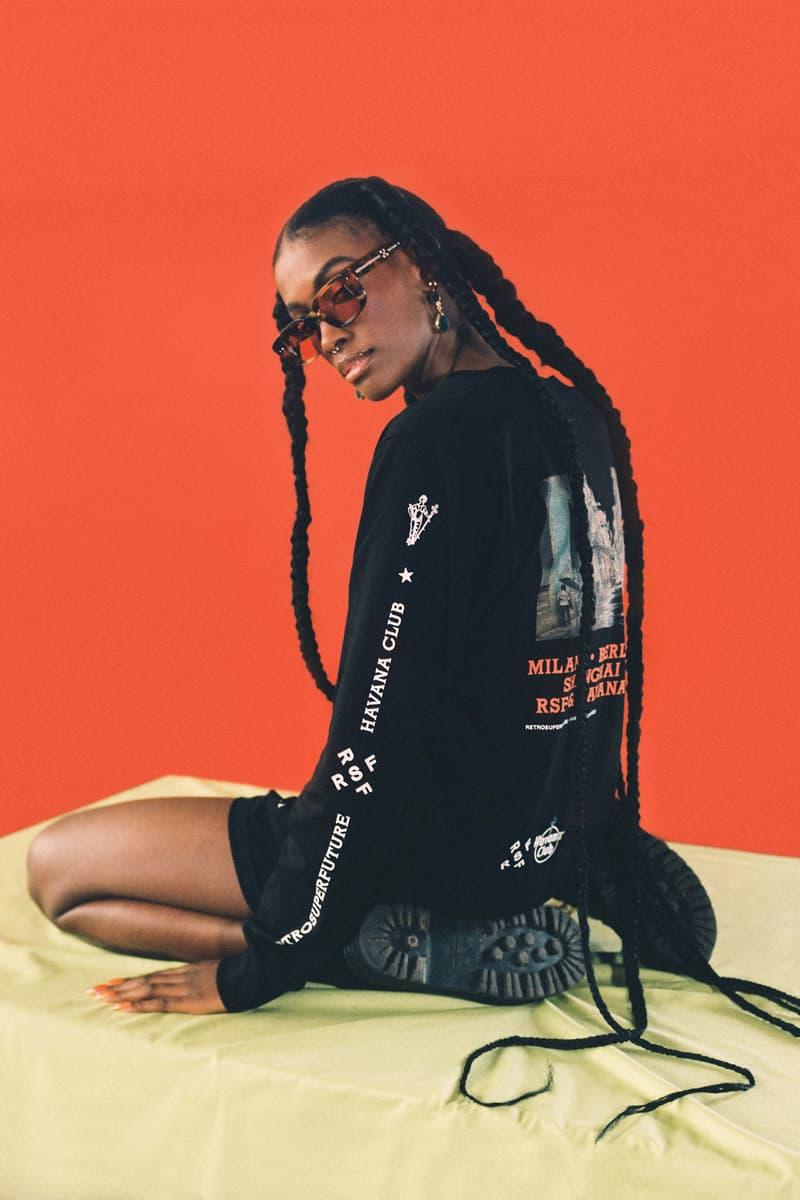 Havana Club 联手太阳眼镜品牌 Retrosuperfuture 共同打造联名系列