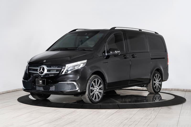 INKAS 發表全新 Mercedes-Benz V-Class「防彈」改裝車型