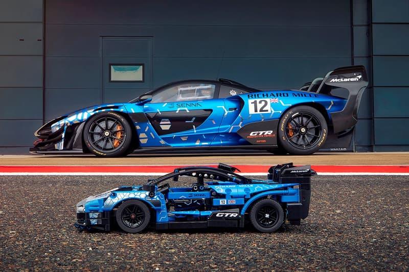 LEGO 攜手 McLaren 實體化 Senna GTR 超跑積木模型