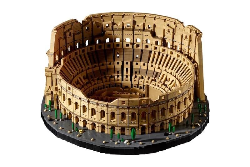 LEGO 推出 9,000 件積木實體化「羅馬競技場」