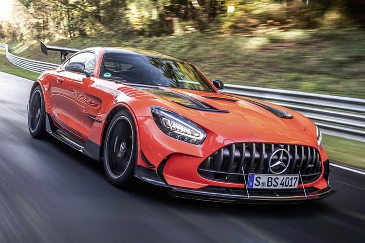 Mercedes-AMG GT Black Series 正式奪下全球最速量產車寶座