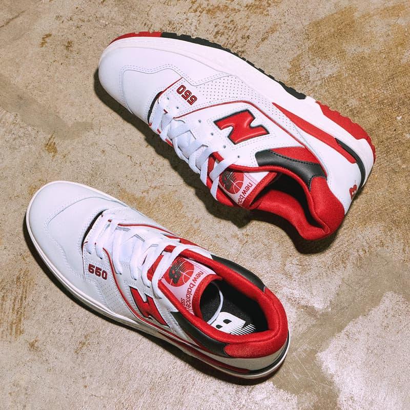New Balance 經典籃球鞋款 550 正式回歸