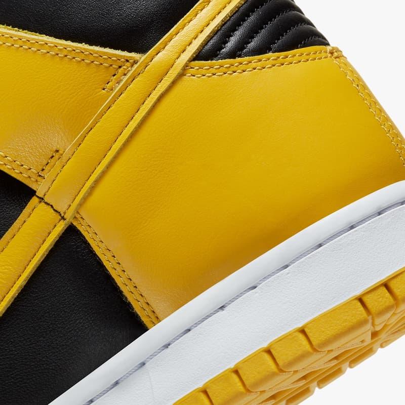 Nike Dunk High 最新配色「Varsity Maize」正式登場