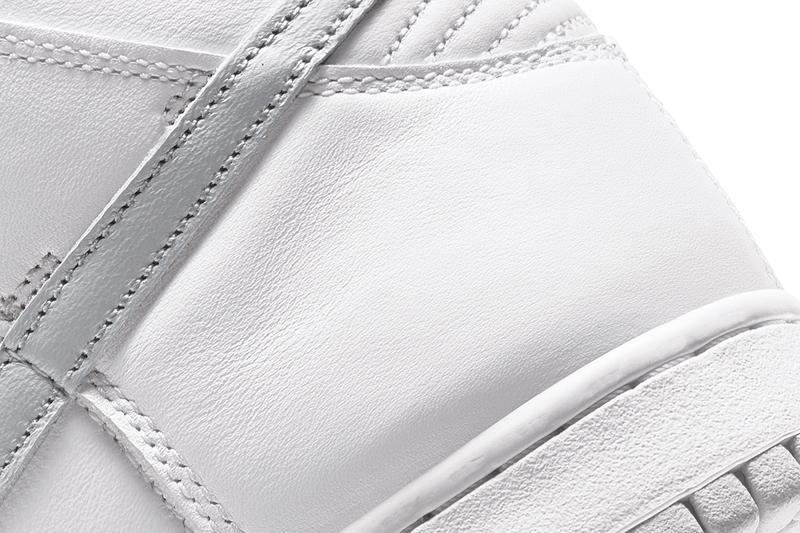 Nike Dunk High 全白配色「Pure Platinum」發售情報正式公開