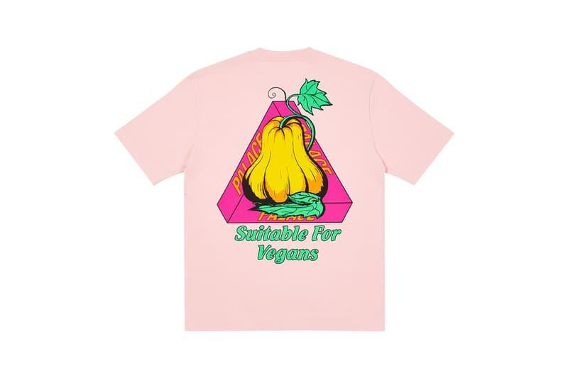PalaceSkateboards 2020假日 T-Shirt 系列