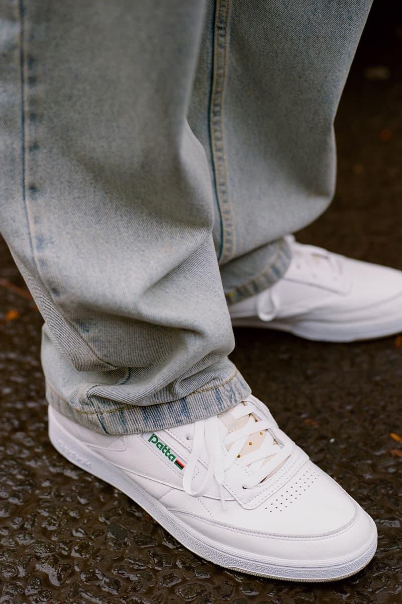 Patta x Reebok Club C 85 全新聯乘鞋款正式發佈