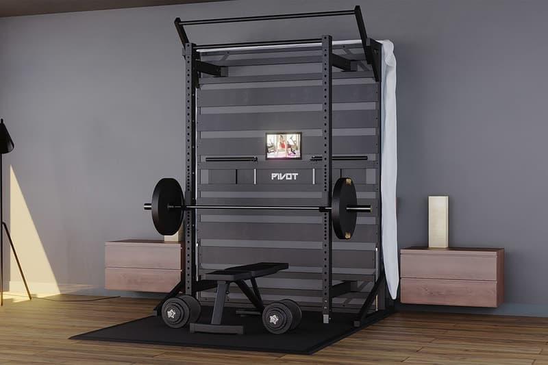 PIVOT Fitness 推出家用「睡眠、健身房」複合式床架