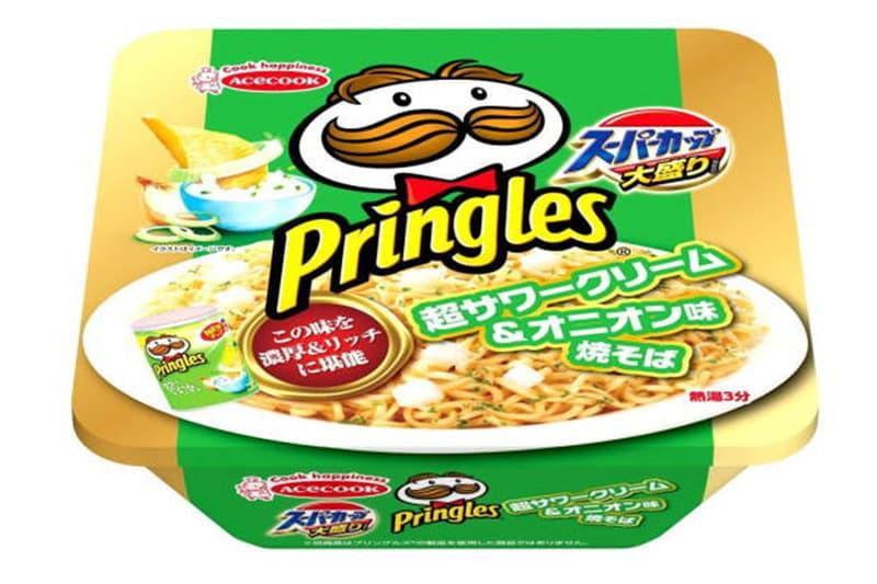 Pringles 推出全新「Sour Cream & Onion」口味炒泡麵