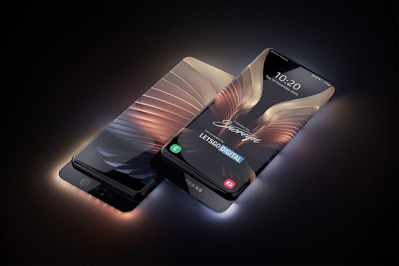 Samsung 全新專利揭示搭載「隱藏式滑動相機」之「全包裹式滿版螢幕」智能手機