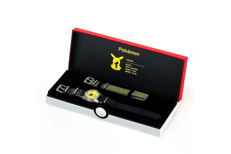Seiko 推出全新 Pokémon 主題聯乘系列腕錶