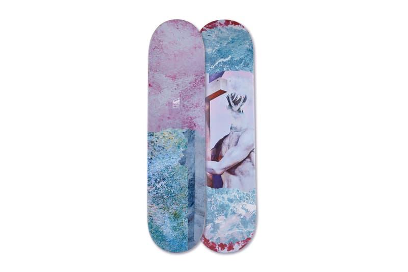 滑板店铺 SPOT 携手艺术家郑田明推出联名合作「ālaya」板面系列