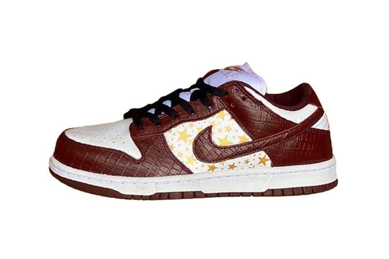 率先預覽 Supreme x Nike SB Dunk Low 全新 2020 秋冬聯乘鞋款