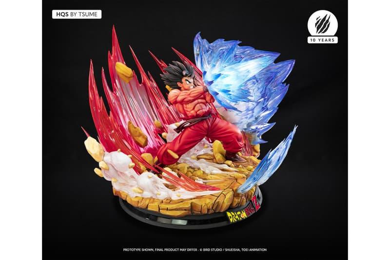Tsume-Art 推出「界王拳」悟空 Vs. 貝吉塔經典對決場景雕像