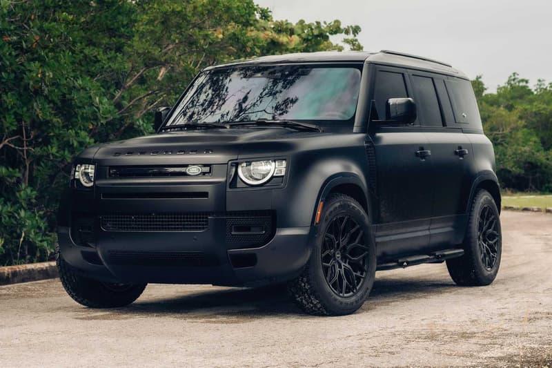 Vossen Wheels 打造 Land Rover Defender 極緻暗黑改裝車款