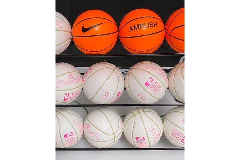Yoon Ahn 親自揭示 AMBUSH x Nike x NBA 全新三方聯乘企劃
