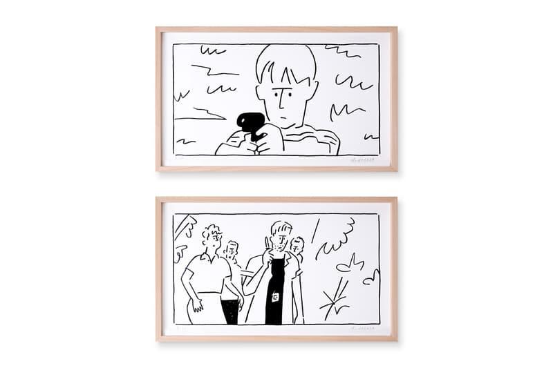 Yu Nagaba 長場雄推出知名電影場景主題《Shot / Reverse Shot》系列畫作