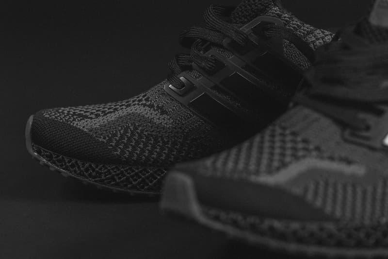 adidas Ultra4D 5.0 全新黑灰配色「Core Black / Carbon」正式發佈