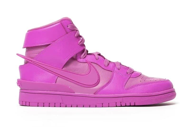 AMBUSH x Nike Dunk High 最新聯名粉色鞋款發售日期率先曝光