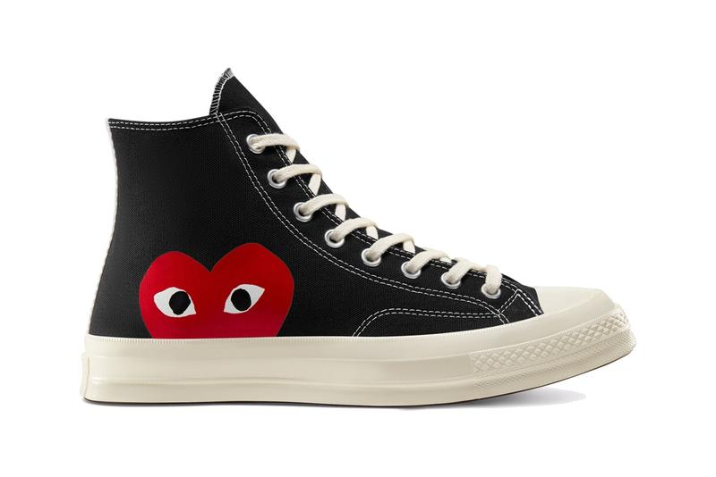 COMME des GARÇONS PLAY x Converse Chuck 70 聯乘鞋款重新補貨上架