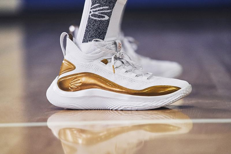 Under Armour 正式推出 Stephen Curry 最新戰靴 Curry Flow 8