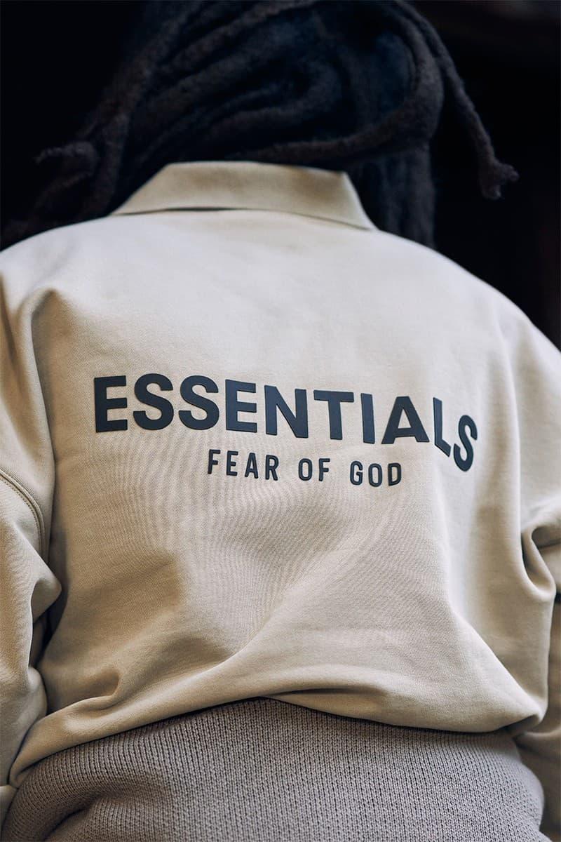 Fear of God ESSENTIALS 2020 Holiday 全新系列正式發佈