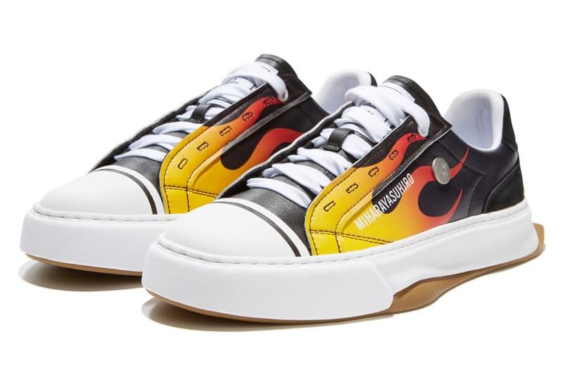 FILAFUSIONxMaisonMIHARAYASUHIROFM-5 FLAME 限定联名鞋款登场