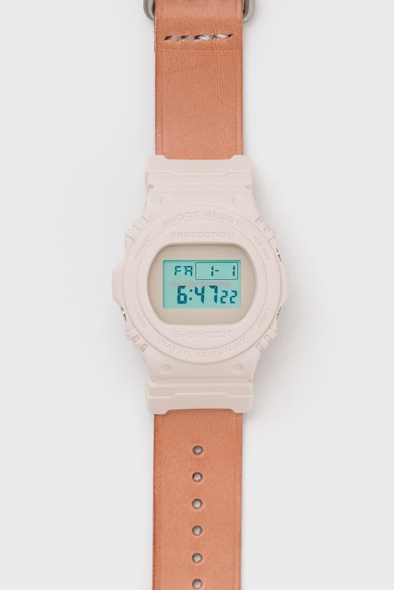 Hender Scheme 攜手 G-SHOCK 打造最新聯名 DW-5750 錶款