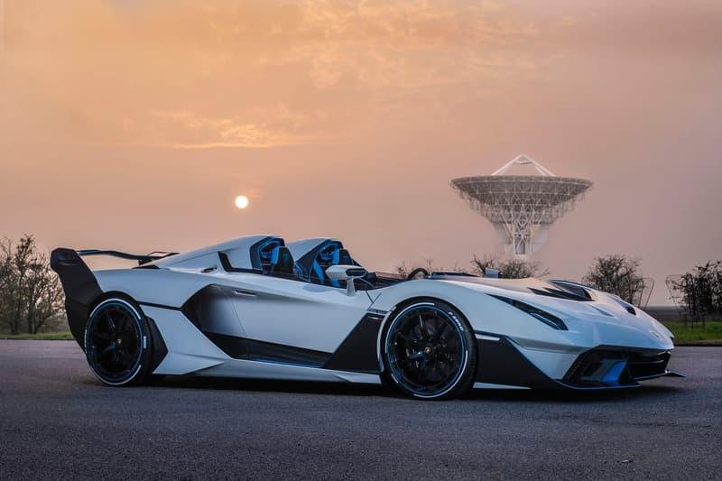 Lamborghini 正式發表 SC20 全新敞篷車款