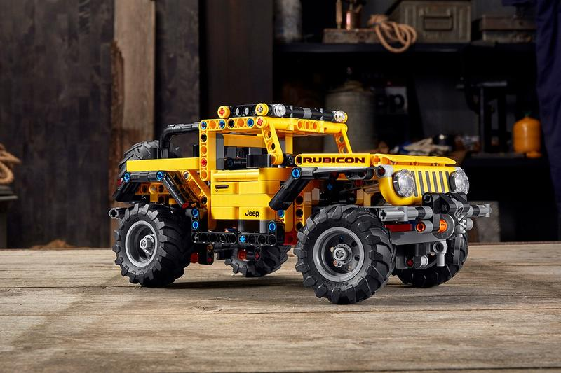 LEGO Technic 推出 Jeep 經典車款 Wranger 積木模型