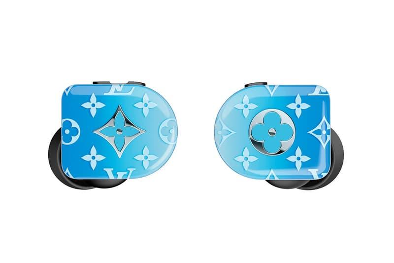 Louis Vuitton 推出全新「Gradient Blue」造型 Horizon 無線耳機